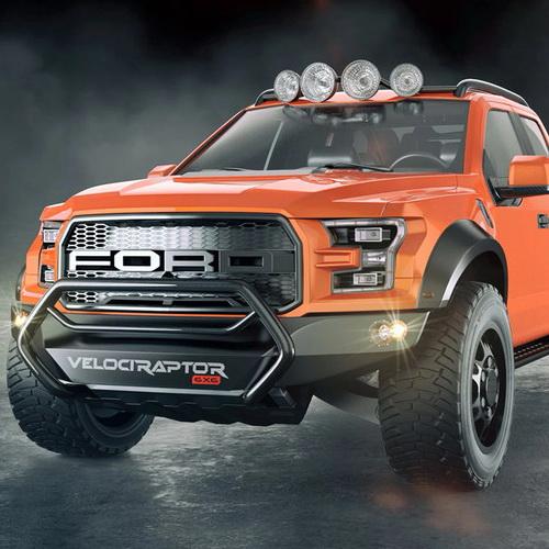 Tinuku Hennessey VelociRaptor 6X6 boost 600 horsepower Ford F-150 Raptor truck
