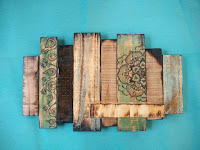 pyrography wall sculpture from repurposed pallet wood