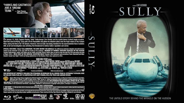 Sully Bluray Cover