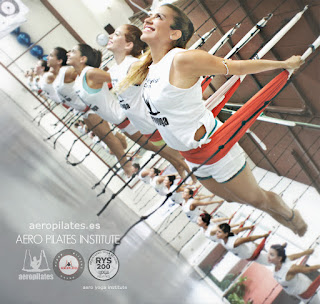 UNICA FORMACION EN PILATES AEREO QUE TE ACREDITA COMO PROFESOR AEROPILATES® INTERNATIONAL