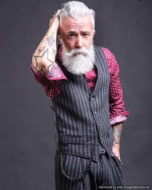 Alessandro Manfredini Tattoo Beard Guy