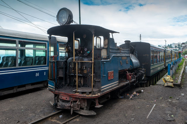 toy train darjeeling travel blog photo
