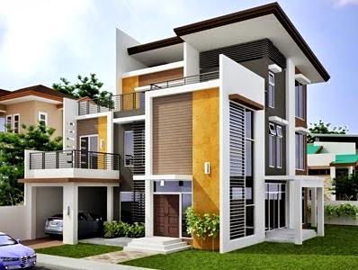 Kumpulan Model Gambar Rumah Idaman Terbaru 2016  - Rumah Idaman Minimalis Modern 2 Lantai