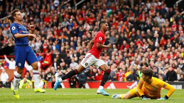 Rashford Dua Gol, MU Habisi Chelsea 4-0 di Old Trafford