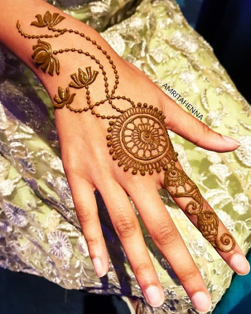125 Stunning Yet Simple Mehndi Designs For Beginners Easy