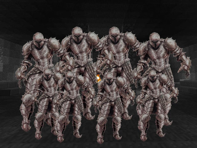 Animated Armor in Wave Echo Lake Prison