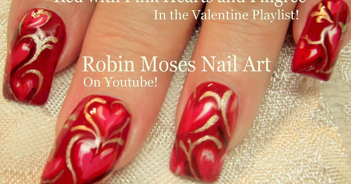 """Robin Moses Nail Art: """"valentine nails"""" """"valentine nail"""