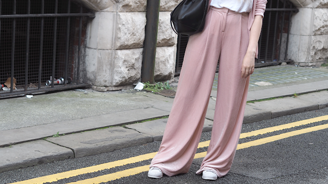 missguided velvet suit fashion blog