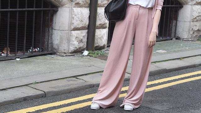 missguided velvet suit fashion blog