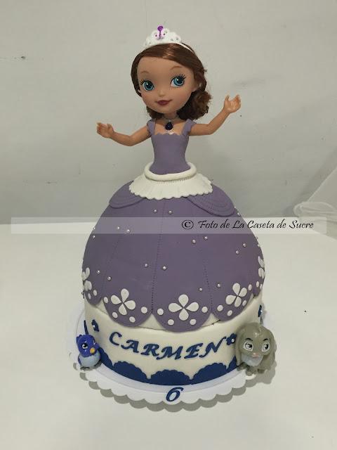 tarta princesa Sofia 3D