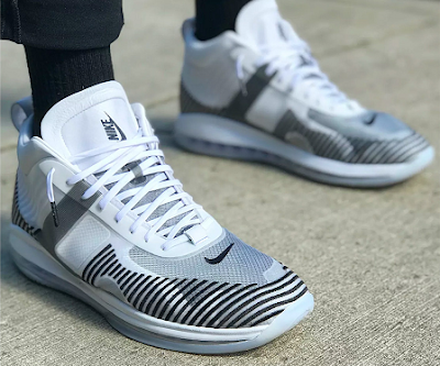buy online c2479 d7052 Last week, we had a first look at the John Elliott x Nike LeBron Icon model  in all-white as well as a teaser of the black white colorway on King James  ...