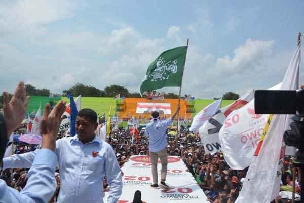 BPN: Cari Siapa Bawa Bendera NU di Kampanye, Jangan Salahkan Sandiaga