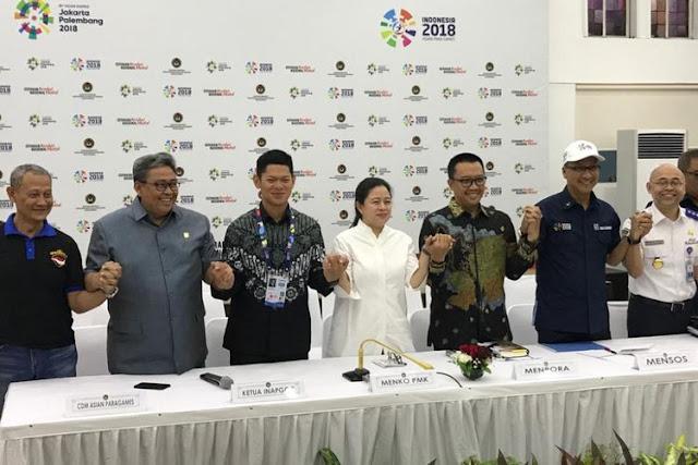 Ini Pengalihan Arus Lalin Saat Acara Pembukaan Asian Para Games