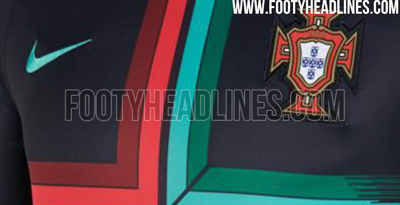 6a22df99d Same Design as The World Cup Kit  Stunning Portugal 2018 World Cup  Pre-Match Jersey Leaked