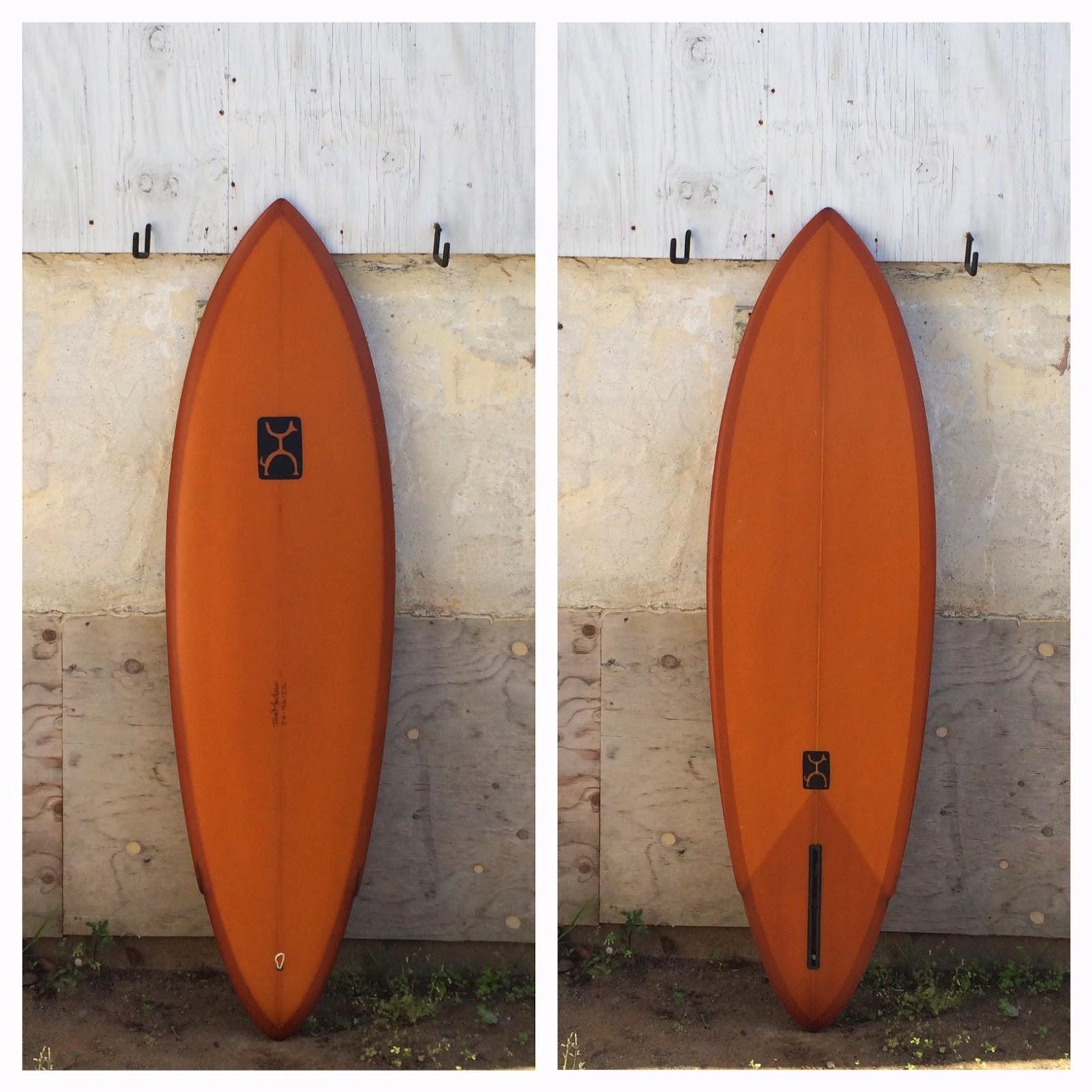 Rusty single fin