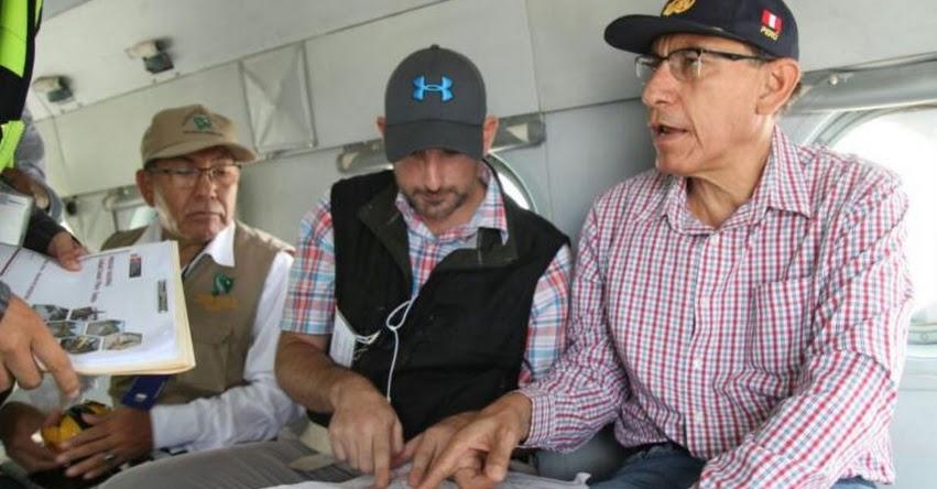 Presidente Vizcarra viajará mañana martes a Piura para evaluar situación de damnificados