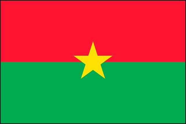 Negara Burkina Faso berada di wilayah Afrika Barat yang terkurung daratan  Tentang Negara Burkina Faso di Afrika Barat