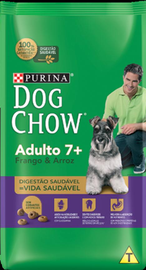 Purina®  Dog Chow® lança o novo Dog Chow 7+