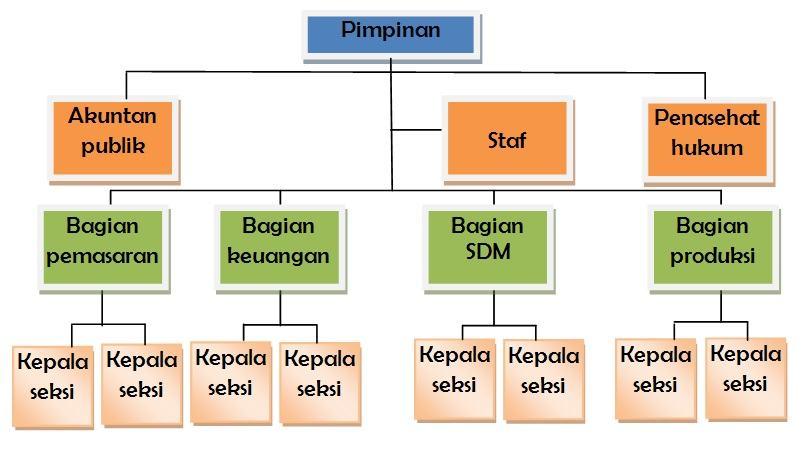 Bentuk organisasi garislini dan staf line and staff organization ccuart Choice Image