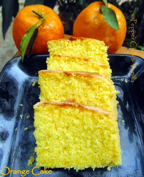 how to make orange cake ,soft and moist orange cake