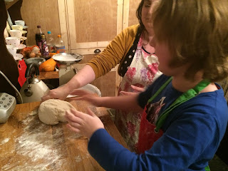 Learning to knead pizza dough