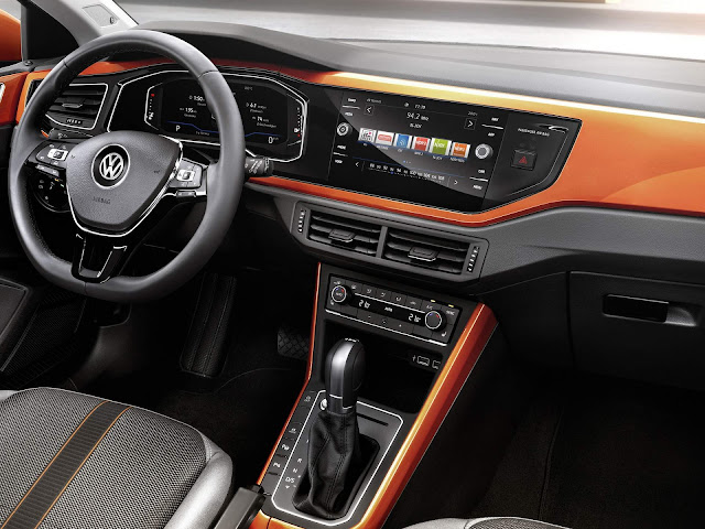 novo VW Polo 2018 - interior