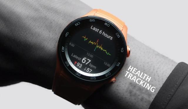 Huawei Watch 2 heart rate monitor