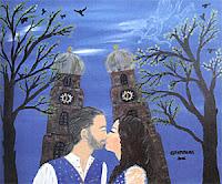 Bild der Malerin und Autorin Petra von Effenberg