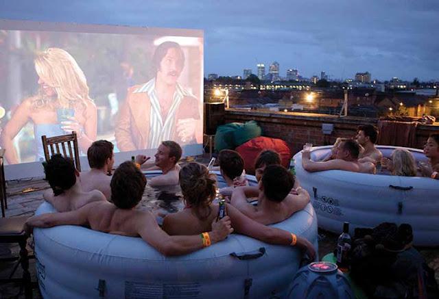 Hottub cinema