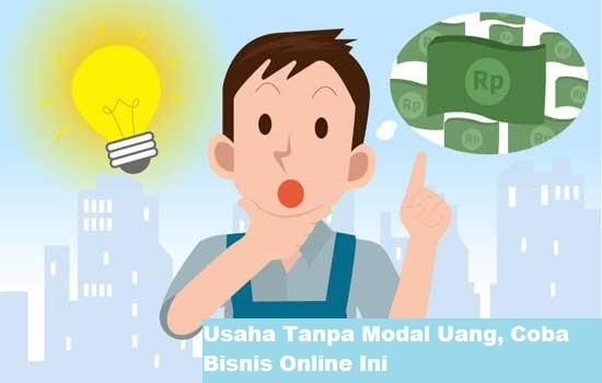 Usaha Tanpa Modal Uang, Coba Bisnis Online Ini