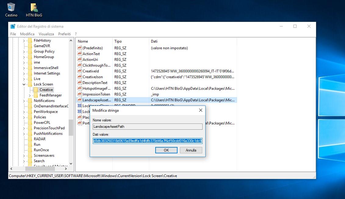 Come salvare l'immagine attuale della Schermata di blocco in Windows 10 2