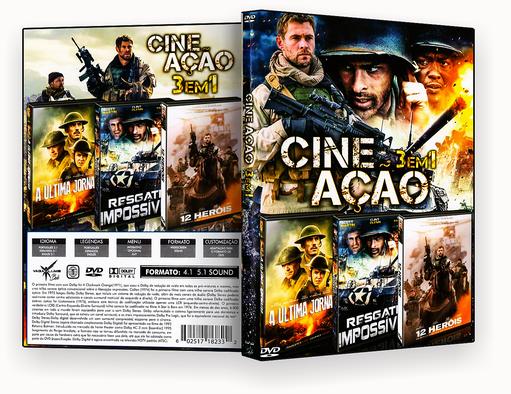 Coleção – Cine Ação – Guerra (2018) – ISO