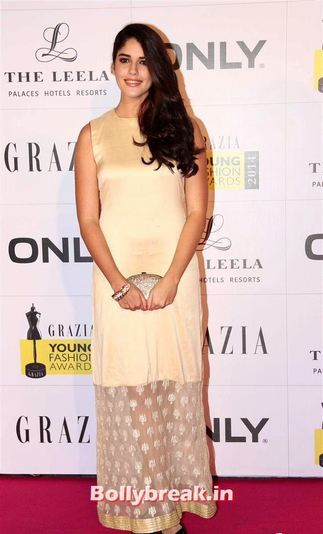 Izabelle Leite, Hottest Celebs of Bollywood at Grazia Young Fashion Awards 2014