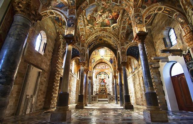 Santa Maria dell' Ammiraglio em Palermo