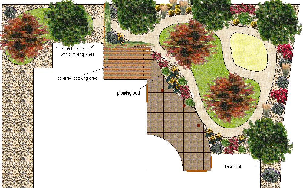 landscape design plans 2