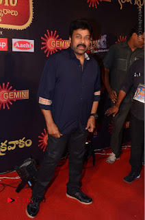 Chiranjeevi Stills at Gemini TV Puraskaralu Event  0004.JPG