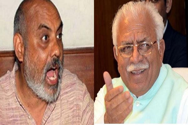 CLU मामले में विद्रोही ने दी CM खट्टर को चुनौती