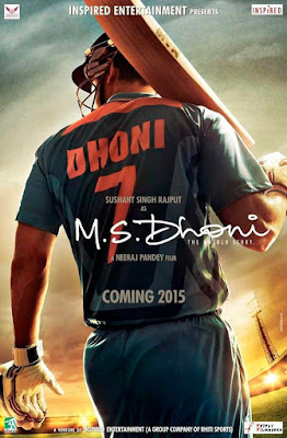 M.S Dhoni The Untold Story 700mb download 2016 DVDScr