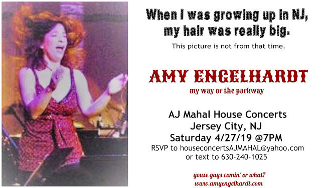 Amy Engelhardt: News/Upcoming Gigs 2018-2019