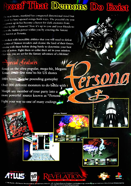 Revelations Persona for PlayStation Print Ad