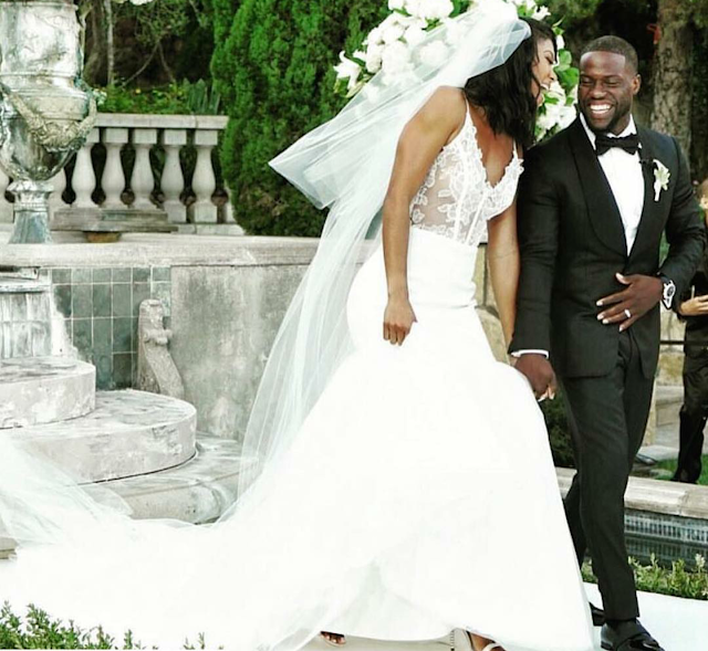 kevin hart, eniko hart, wedding, eventsojudith