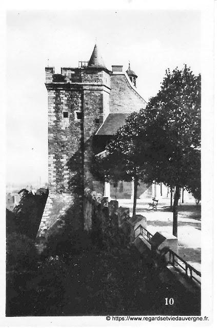 Photo noir et blanc : Montluçon vers 1930.