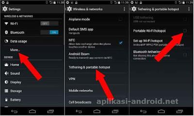 Cara setting Hotspot Android