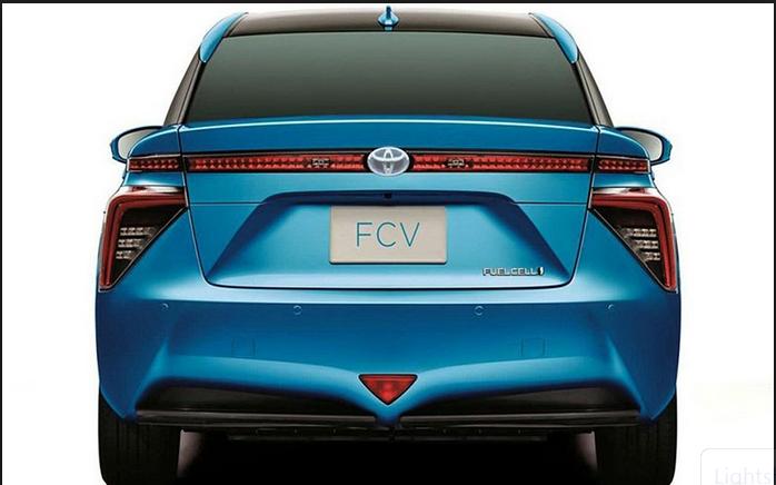 Toyota FCV Mirai launches in LA