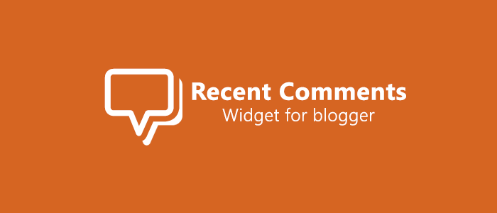 Blogger Recent Comments Widget with Circle Avatar