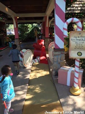 Playing miniature golf at Disney World Resort, Florida