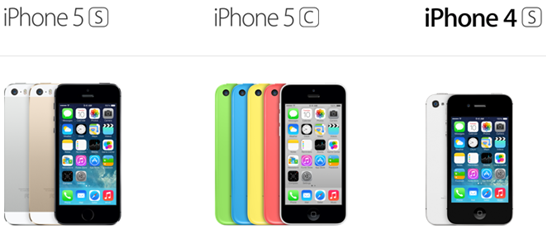 iPhone 5S vs iPhone 5C vs iPhone 4S