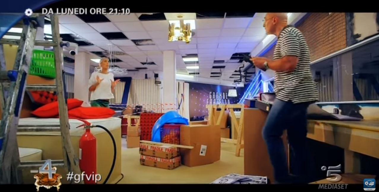 Canzone Grande Fratello VIP spot con Alfonso Signorini e Ilary Blasi Pubblicità