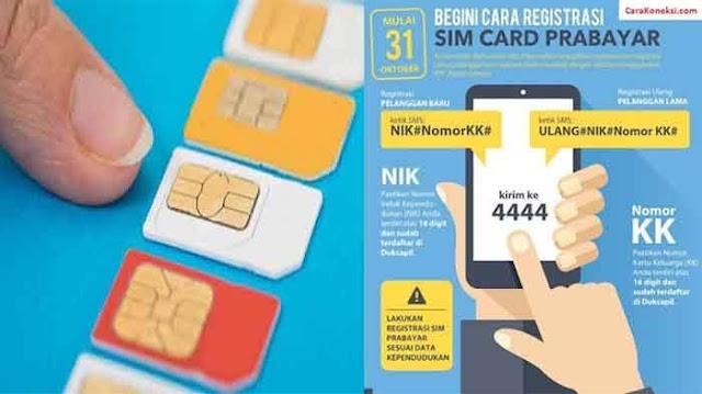 Cara Registrasi Kartu Bagi Pengguna Baru Untuk Semua Operator