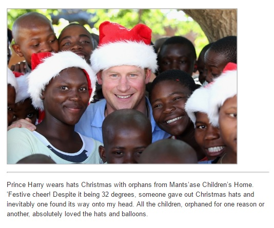 Princes Harry and Seeiso Mamohato Children's Centre provides basic education, life skills, emotional and psychological support to children living with HIV.